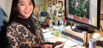グラフィックデザイナー林 佳瑶(リンカヨウ)さん
